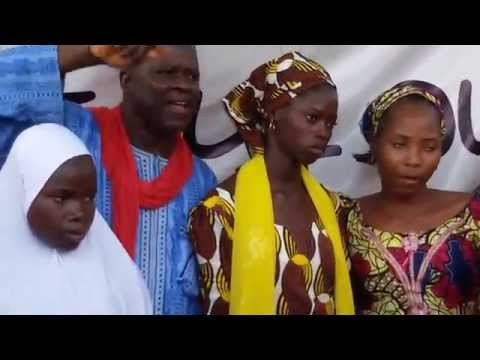 Video:#BringBackOurGirls,Now and Alive! Oby,Hadiza,escapee Chibok Girls ,others at Abuja rally