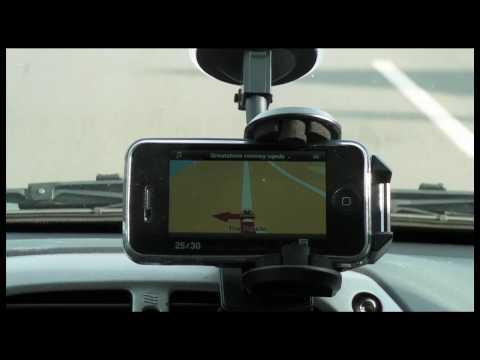 Uporaba TOMTOM prostoročnega nosilca za Apple produkte