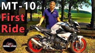 2. 2019 Yamaha MT-10   First Ride   Review   EN/DE Subs