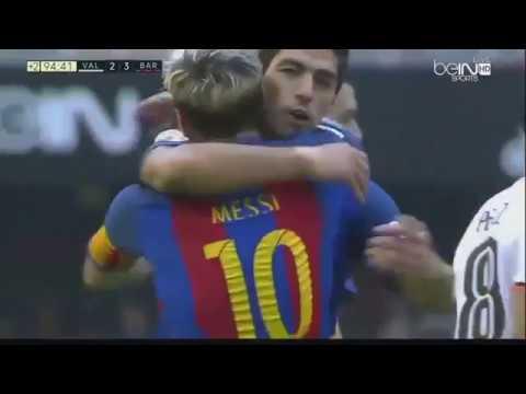 Valencia vs Barcelona 2 - 3 | All Goals & Highlights 22 10 2016
