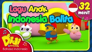 Video Lagu Anak Balita Indonesia | Didi & Friends | 32 Menit MP3, 3GP, MP4, WEBM, AVI, FLV Maret 2019