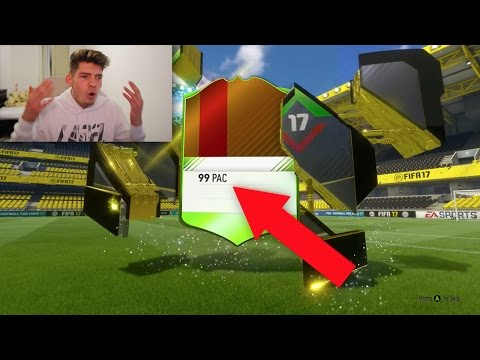 THIS FIFA 17 CARD SHOULD ACTUALLY BE ILLEGAL... (Fifa 17 Ultimate Team) (видео)