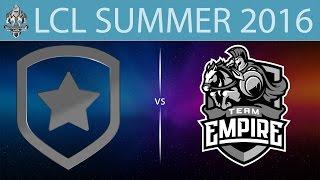 Gambit.CIS vs Empire, game 1