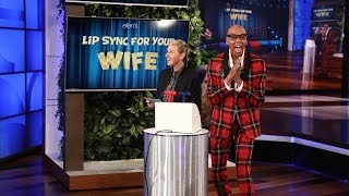 Video RuPaul and Ellen Host 'Lip Sync For Your Wife' MP3, 3GP, MP4, WEBM, AVI, FLV Maret 2018