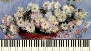 Арабеска №1 - К. Дебюсси (Arabesque_No.1 ,Debussy) (Пример игры на пианино) (piano cover)