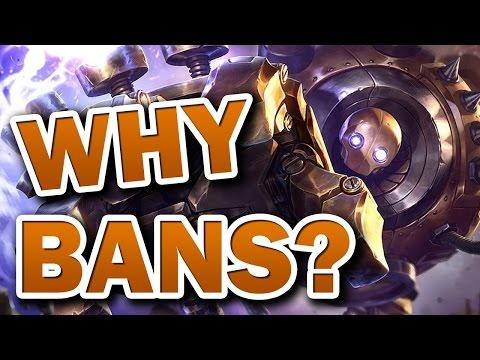 [LoL] Зачем нам нужны баны?