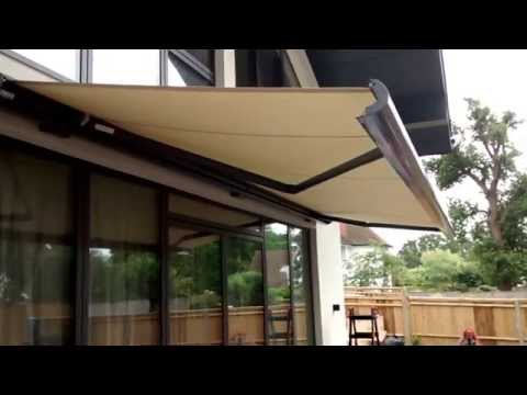 Electric Awning | Premier Blinds & Awnings 01372 377 112