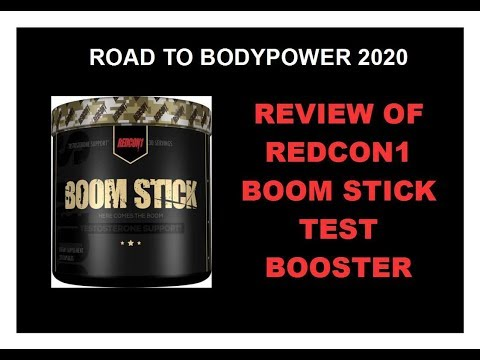 REVIEW OF REDCON1 BOOM STICK TEST BOOSTER