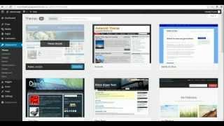 Basics Of Wordpress Tutorial - Beginners