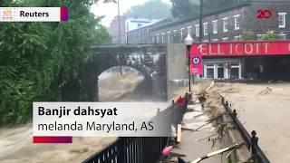 Video Video Dahsyatnya Banjir di Maryland, AS MP3, 3GP, MP4, WEBM, AVI, FLV September 2018