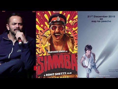 Rohit Shetty On 'Simmba' VERSUS 'Zero' Cla