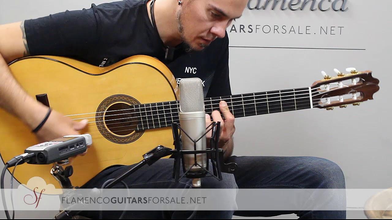 VIDEO TEST: Francisco Sánchez 2017 flamenco guitar for sale