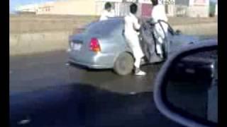 Car Skating In Saudia Arabia