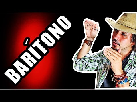 baritono - INSCREVA-SE - http://www.youtube.com/guerramarcio Facebook: http://www.facebook.com/MarcioGuerraCanto Twitter: http://www.twitter.com/marcioguerracan Instagr...