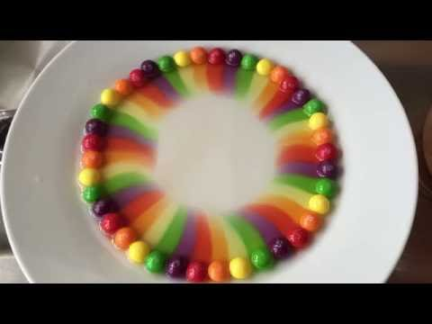 Rainbow Magic with Skittles Candies