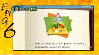 สื่อการเรียนการสอน Food pyramid ป.6 ภาษาอังกฤษ