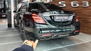 2018 Mercedes AMG S63 4Matic+ 612HP POV PREVIEW Walkaround by AutoTopNL