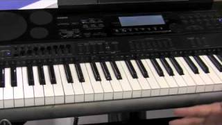Casio CTK-7000 And WK-7500 - Sweetwater NAMM 2011