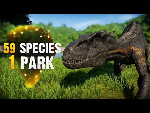 59 SPECIES, 1 PARK! | Ending (Jurassic World: Evolution All-Species Park)
