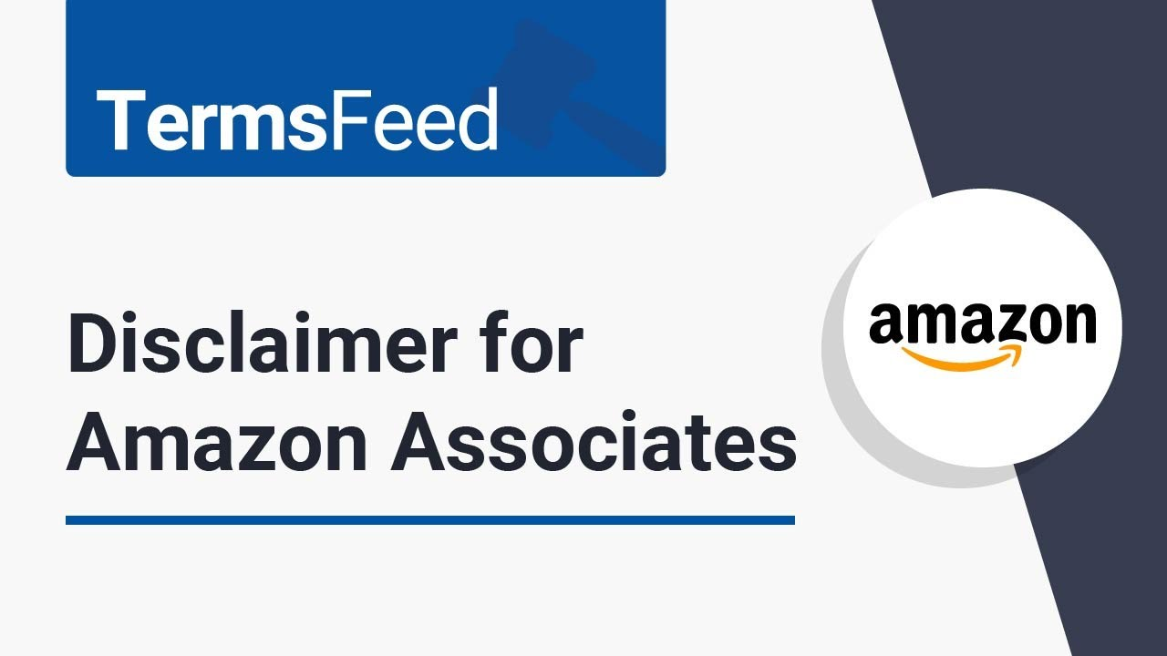 Health Amazon Affiliate Disclaimer