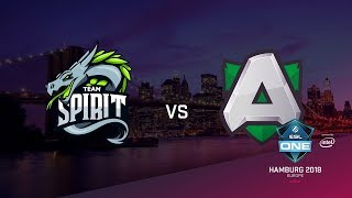 Team Spirit vs Alliance, ESL Closed Quals EU, bo3, game 1 [Maelstorm & LighTofHeaveN]