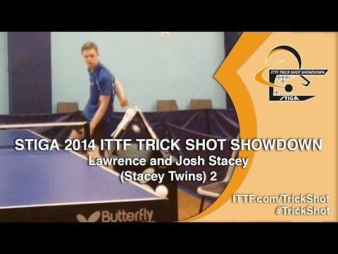 lawrence - Entry: Joshua and Lawrence Stacey - You have seen behind the back shots, you have seen around the net shots through objects... But have you seen it combined? Think you can do better? Submit...