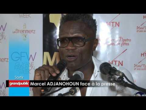 Conférence de presse Marcel ADJANOHOUN