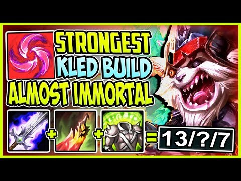 Reddit wtf - STRONGEST KLED BUILD  WTF DMG AND SUSTAIN? ALMOST IMMORTAL  Kled TOP S8 Gameplay League of Legends