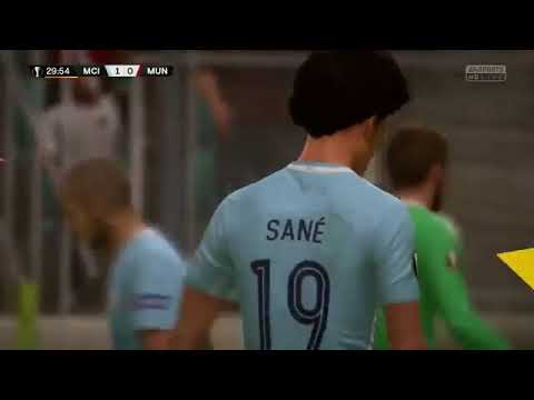 United vs City de FIFA 19