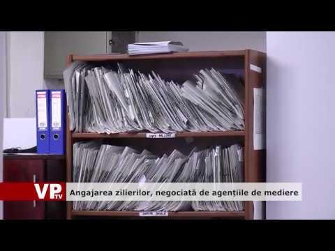 Angajarea zilierilor negociată de agențiile de mediere