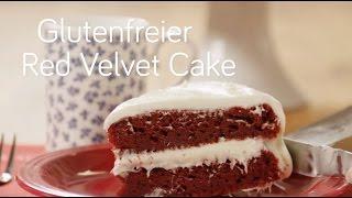 Glutenfreier Red Velvet Cake