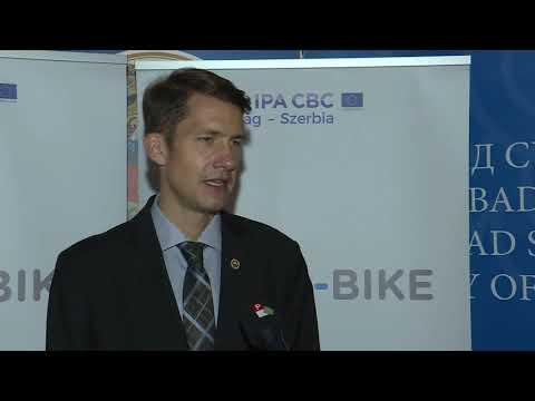 Hat hónappal a határidő előtt készült el a kelebiai és a királyhalmi kerékpárút-cover