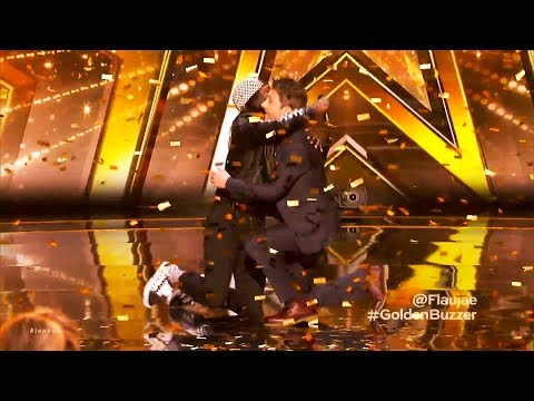 ALL 4 GOLDEN BUZZER On Judge Cut Round America's Got Talent 2018