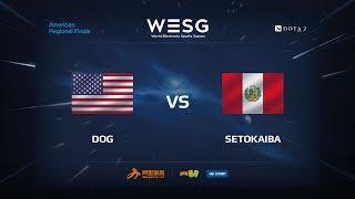 Dog vs SetoKaiba, game 1