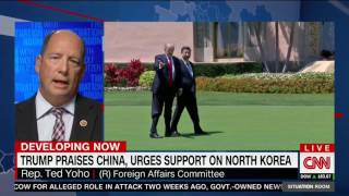 Ted Yoho joins CNN's Wolf Blitzer to discuss North Korea