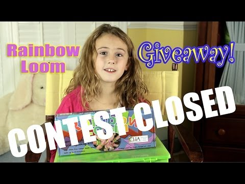Rainbow Loom Giveaway! with a lot of extra bands! CONTEST CLOSED