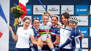 Ponferrada Spain  city photos : Elite Women's Road Race Highlights - 2014 Road World Championships, Ponferrada, Spain