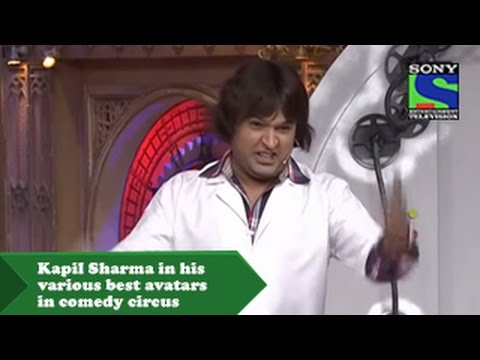 Download Kapil Sharma in his various best avatars in comedy circus HD Mp4 3GP Video and MP3