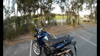 3. BMW F650GS (800cc) Walk Around & Review