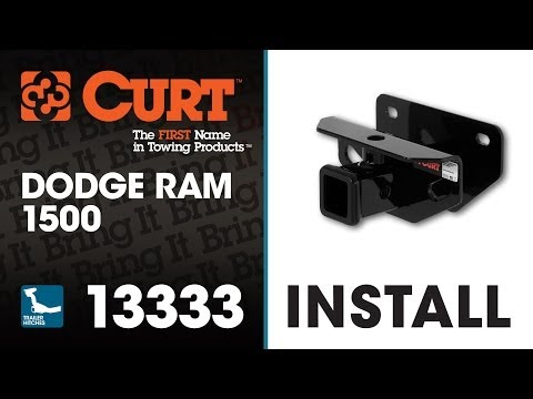 Trailer Hitch Install: CURT 13333 on Dodge Ram 1500