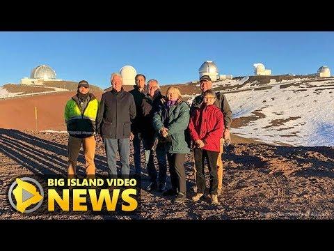Bill and Hillary Clinton Visit Mauna Kea (Mar. 7, 2018)
