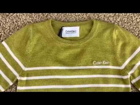 Детский тонкий модный свитер на мальчика видео