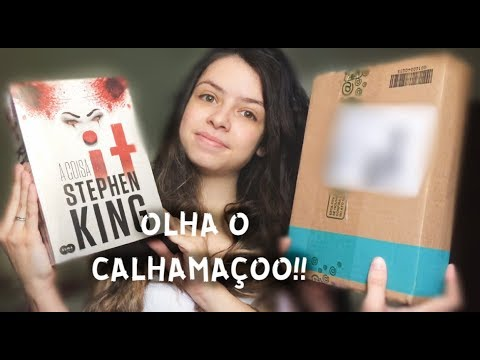 "UNBOXING SUBMARINO DE ""IT: A COISA"", de Stephen King"