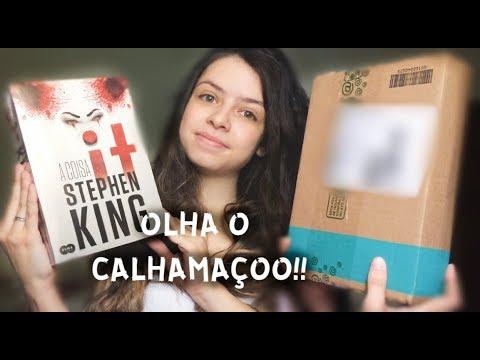 """UNBOXING SUBMARINO DE """"IT: A COISA"""", de Stephen King"""