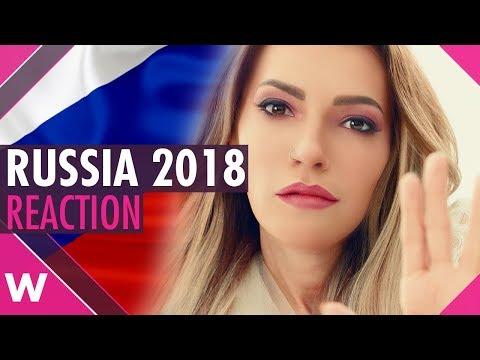 Russia | Eurovision 2018 reaction | Julia Samoylova \