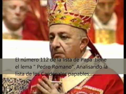 Quien sera el proximo Papa y por que.wmv