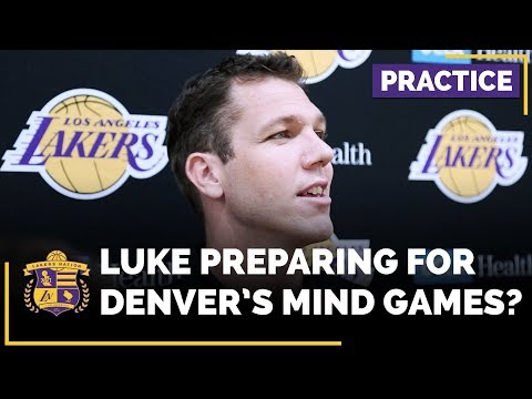 Video: Does Luke Walton Prep His Team For The Denver Nuggets Mind Games?