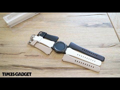 Cinturini Moko per Gear S3, la recensione di TimesGadget