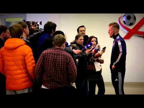 Футболисты «Рубина» в сборной России