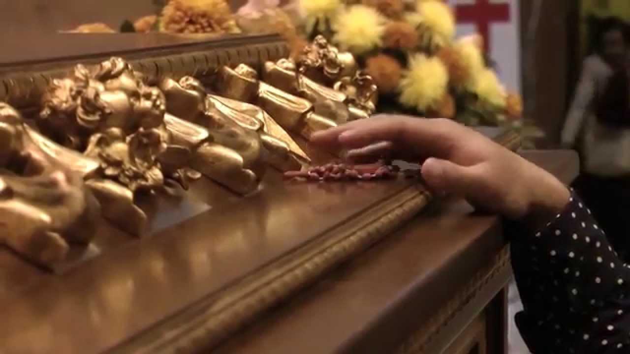 2 octobre: transfert du bienheureux Alvaro à Sainte Marie de la Paix